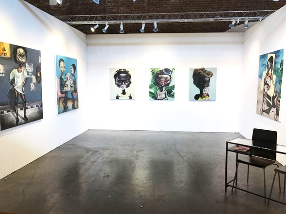 rosenfeldporcini at 1:54 Contemporary African Art Fair New York 2017